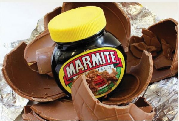 Quirky easter gifts redbrick university of birmingham about marmite egg negle Choice Image