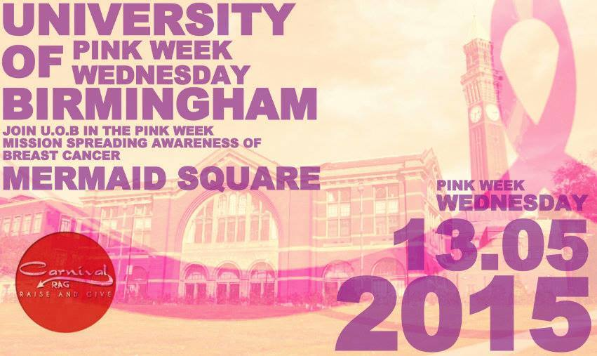 'Pink Wednesday' will take place on Wednesday 13th May