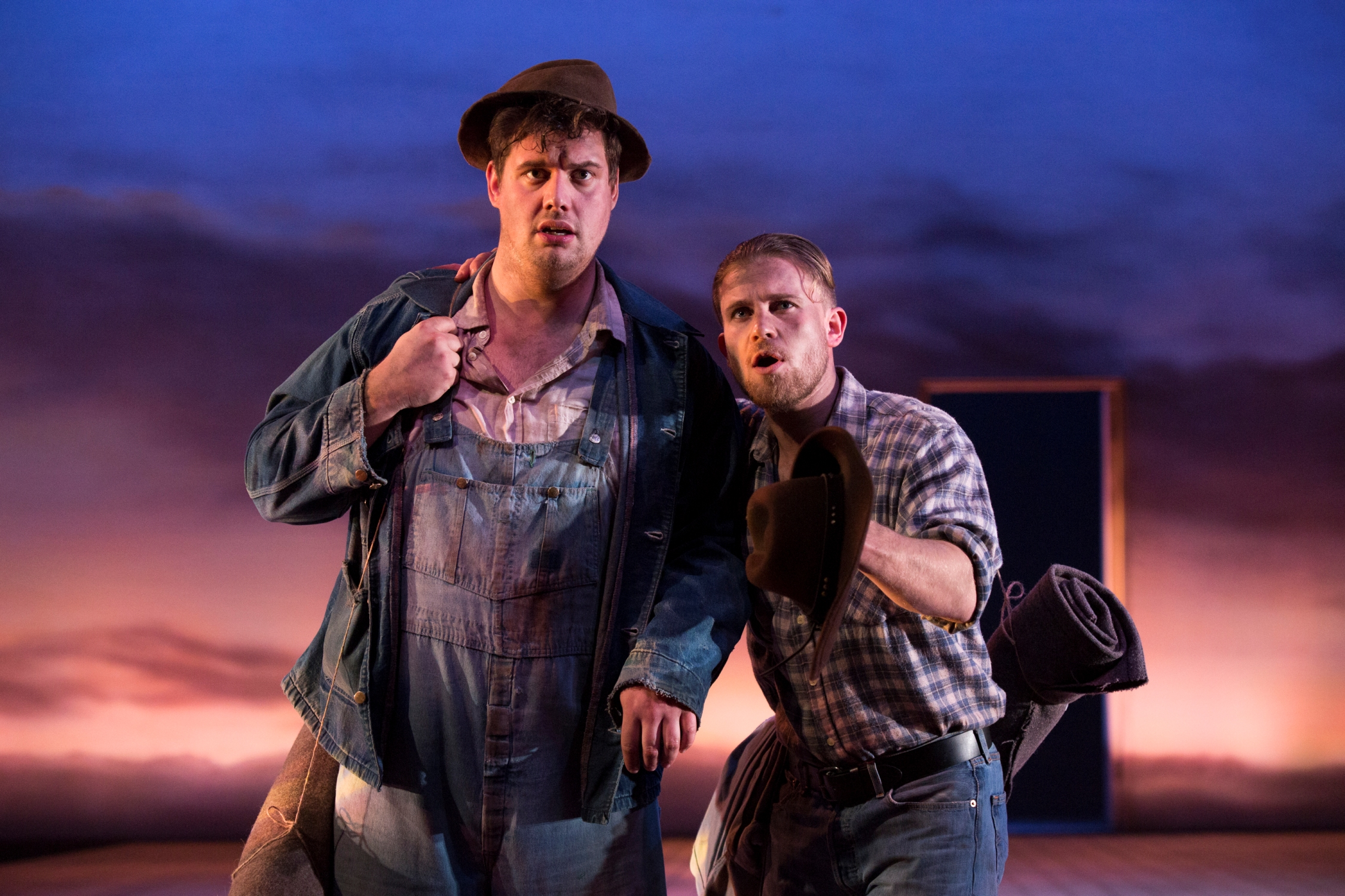 "of mice and men movie review Theater reviews close of mice and  under the direction of jacqueline  thompson, this ""of mice and men"" recounts the tale in swift strokes."