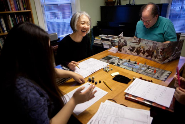 Picture of D&D Players, video games