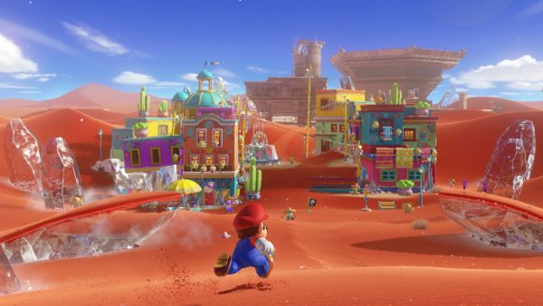 Super Mario Odyssey doesn't require amiibos to unlock content
