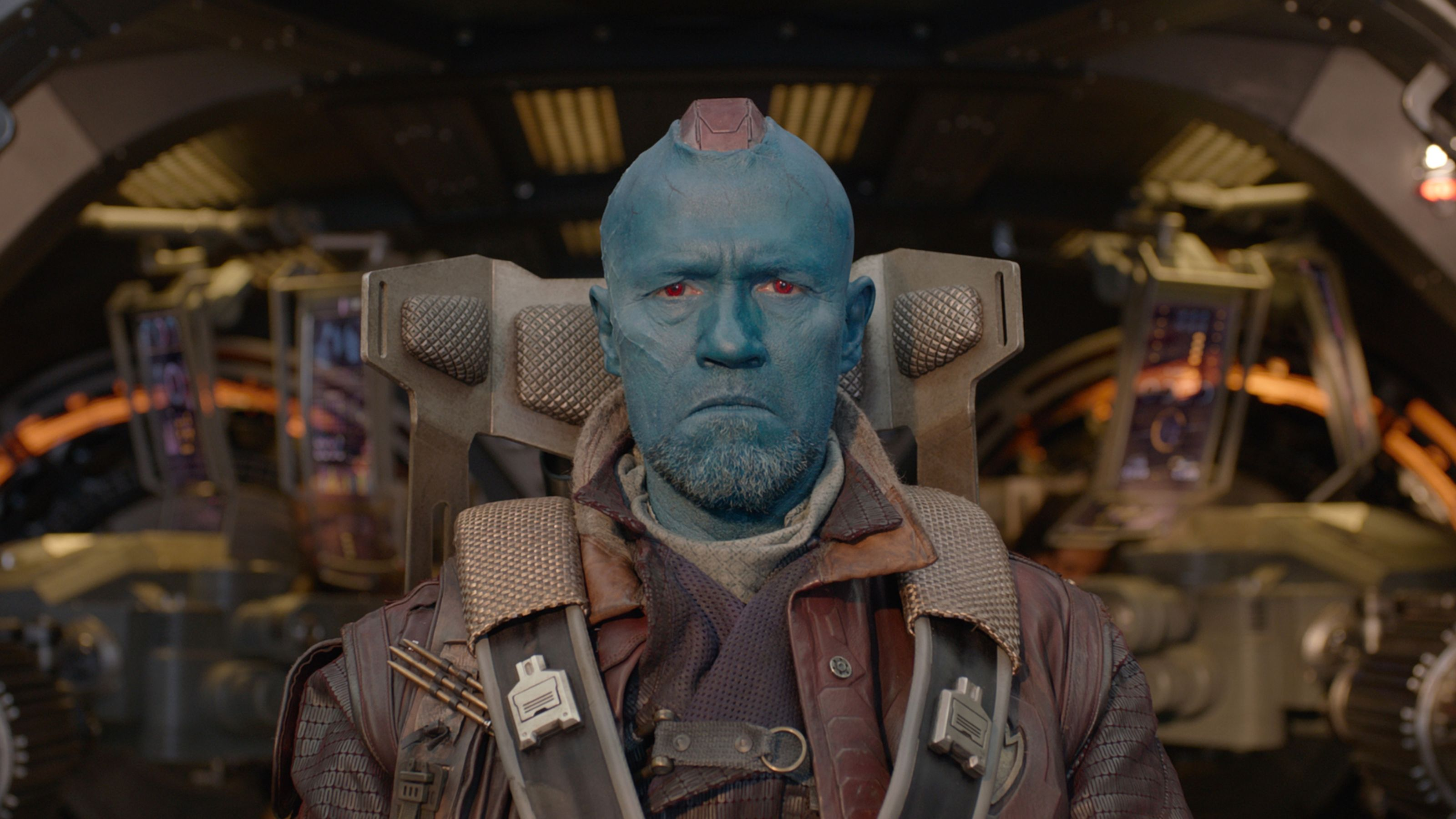 Michael Rooker as Yondu