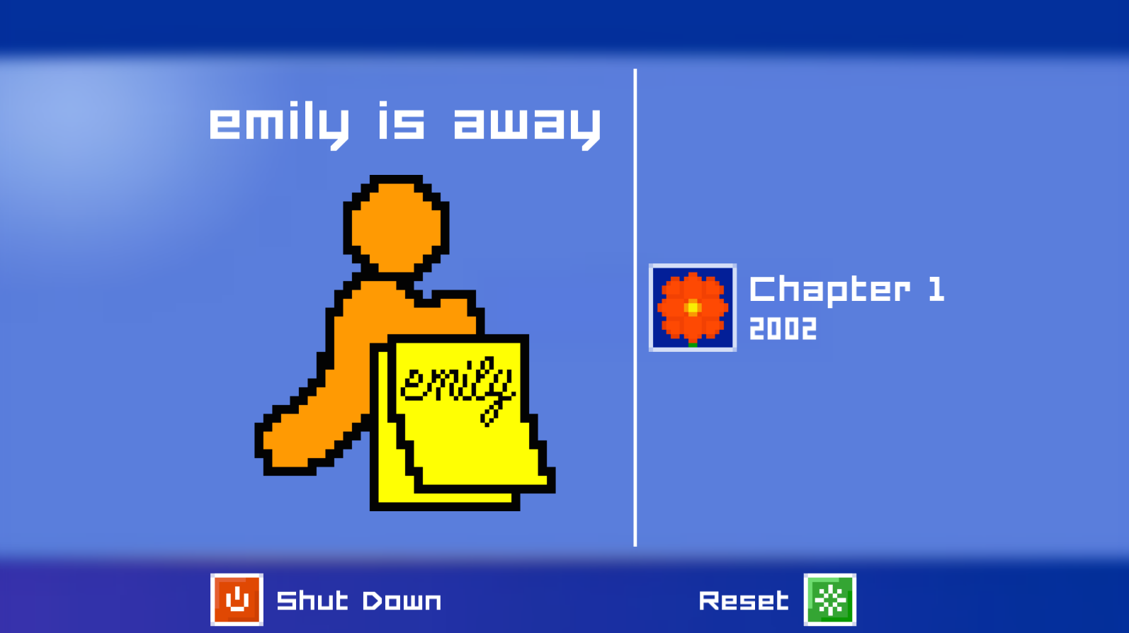 Emily is Away pays homage to the old style of instant messaging many of us grew up with