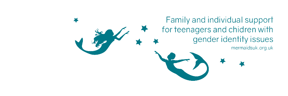 Trans youth, and their families, are helped and supported by mermaids