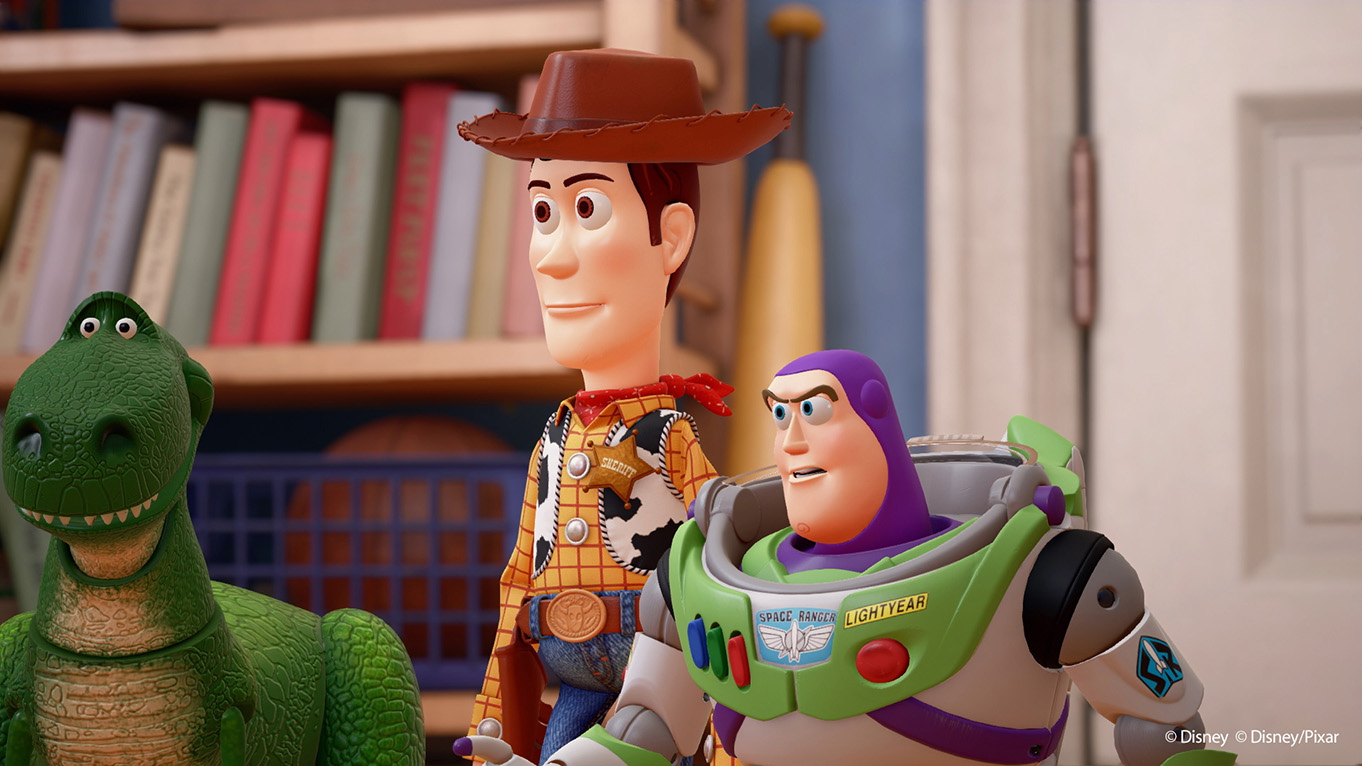 Kingdom Hearts 3 takes players to Toy story's toybox world