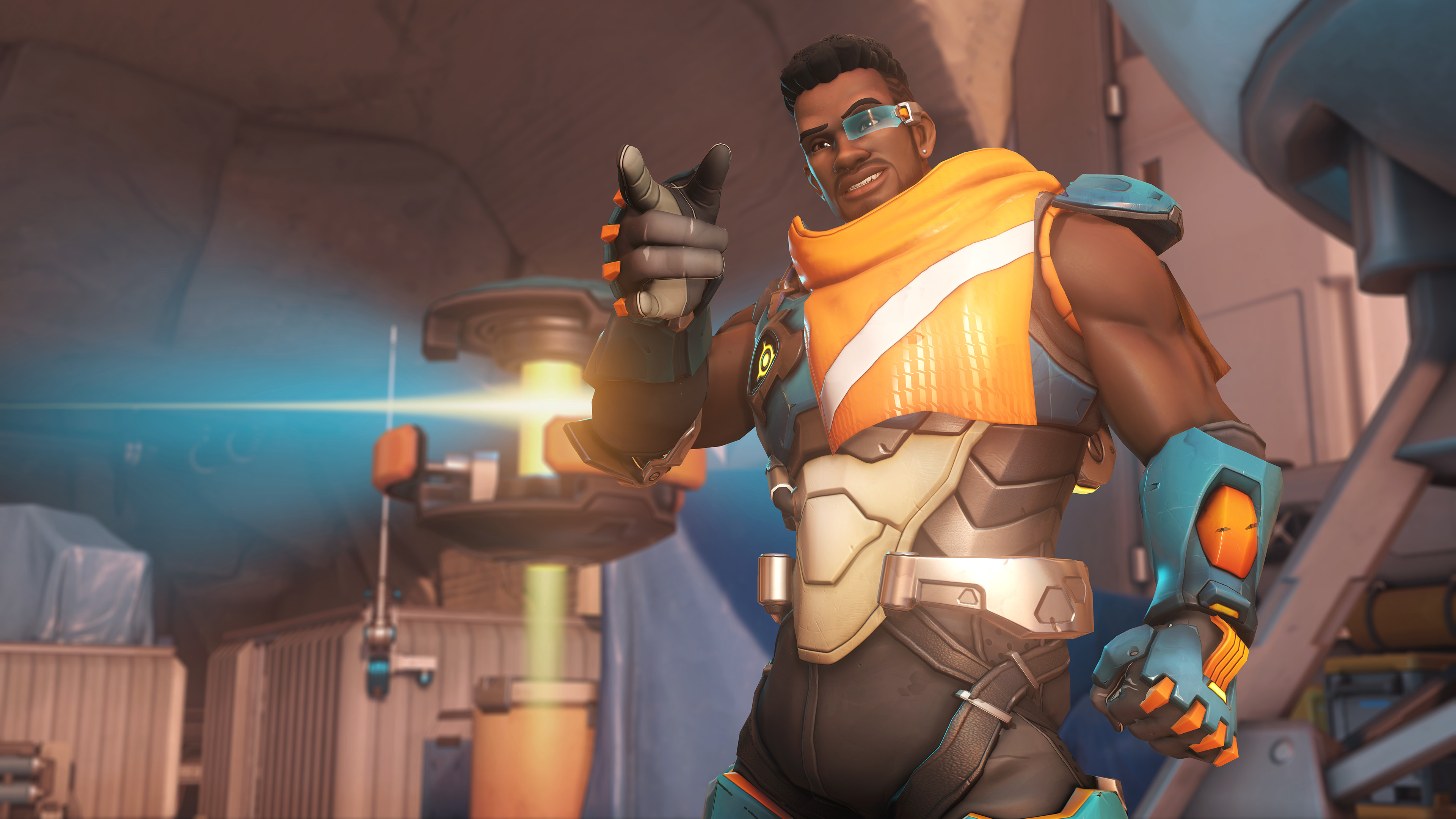 Baptiste, the newest hero in overwatch, is a DPS and Support hybrid