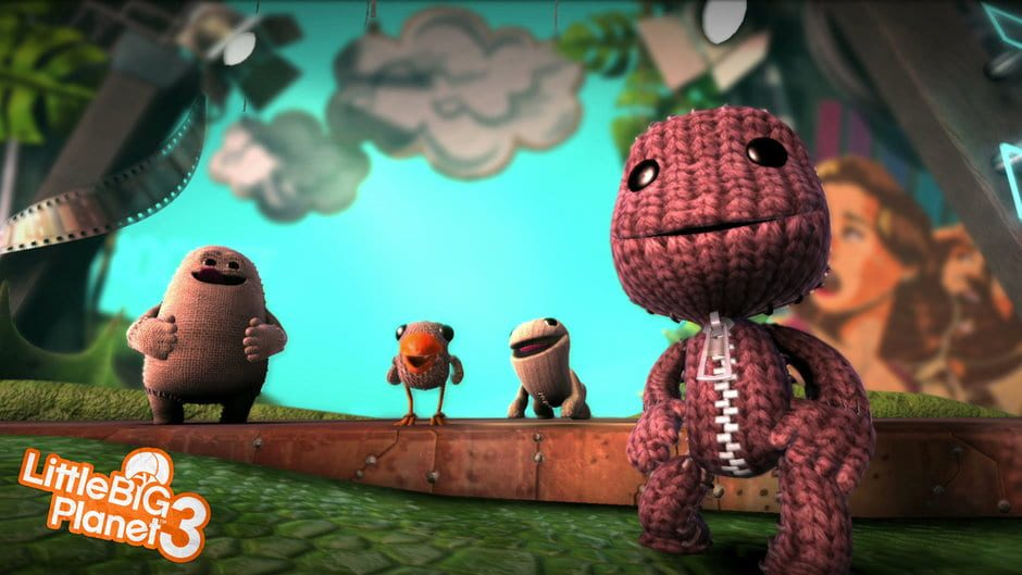 Sackboy and friends! - https://www.igdb.com/games/littlebigplanet-3/presskit