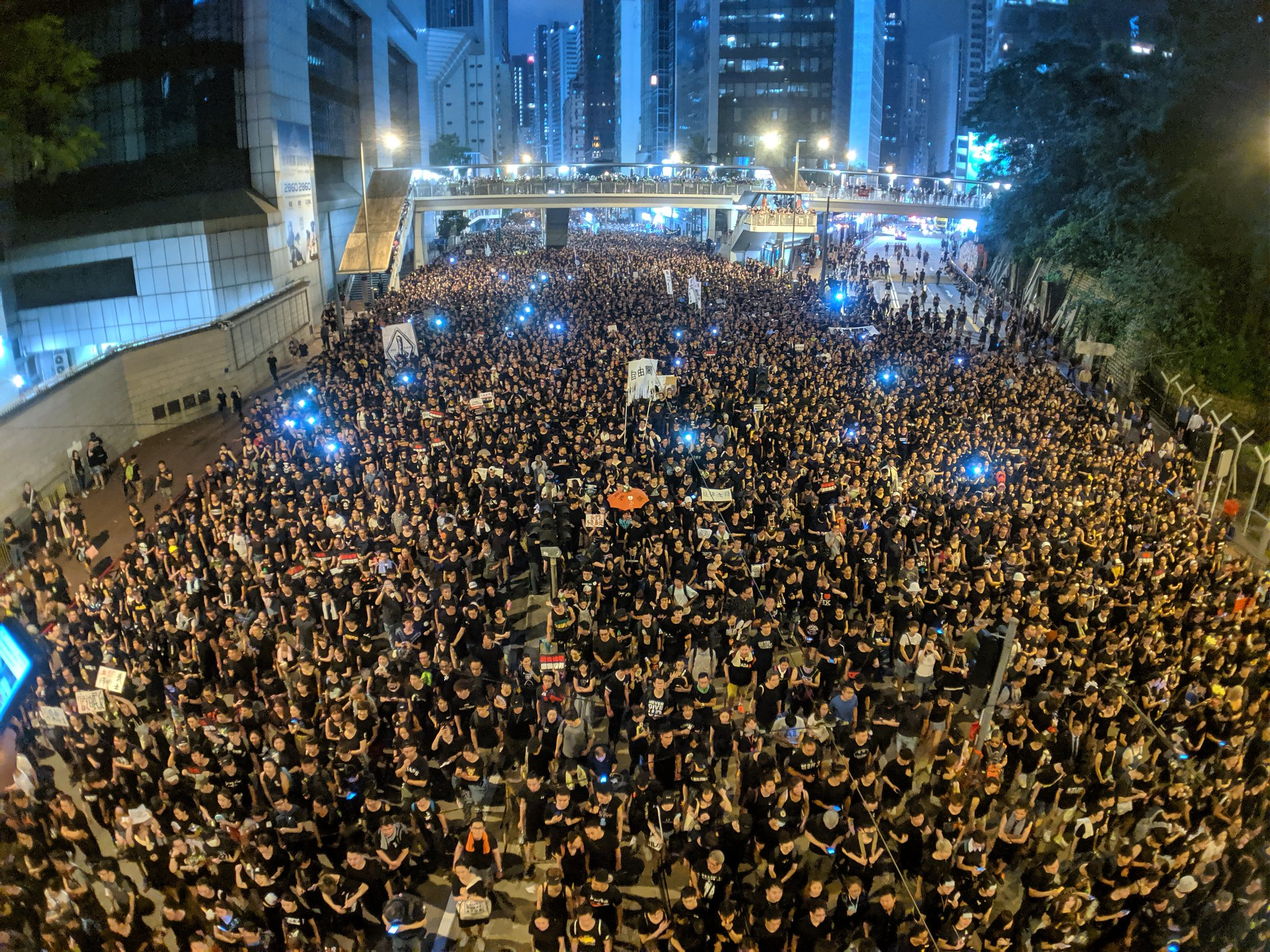 Hong Kong, protests, international