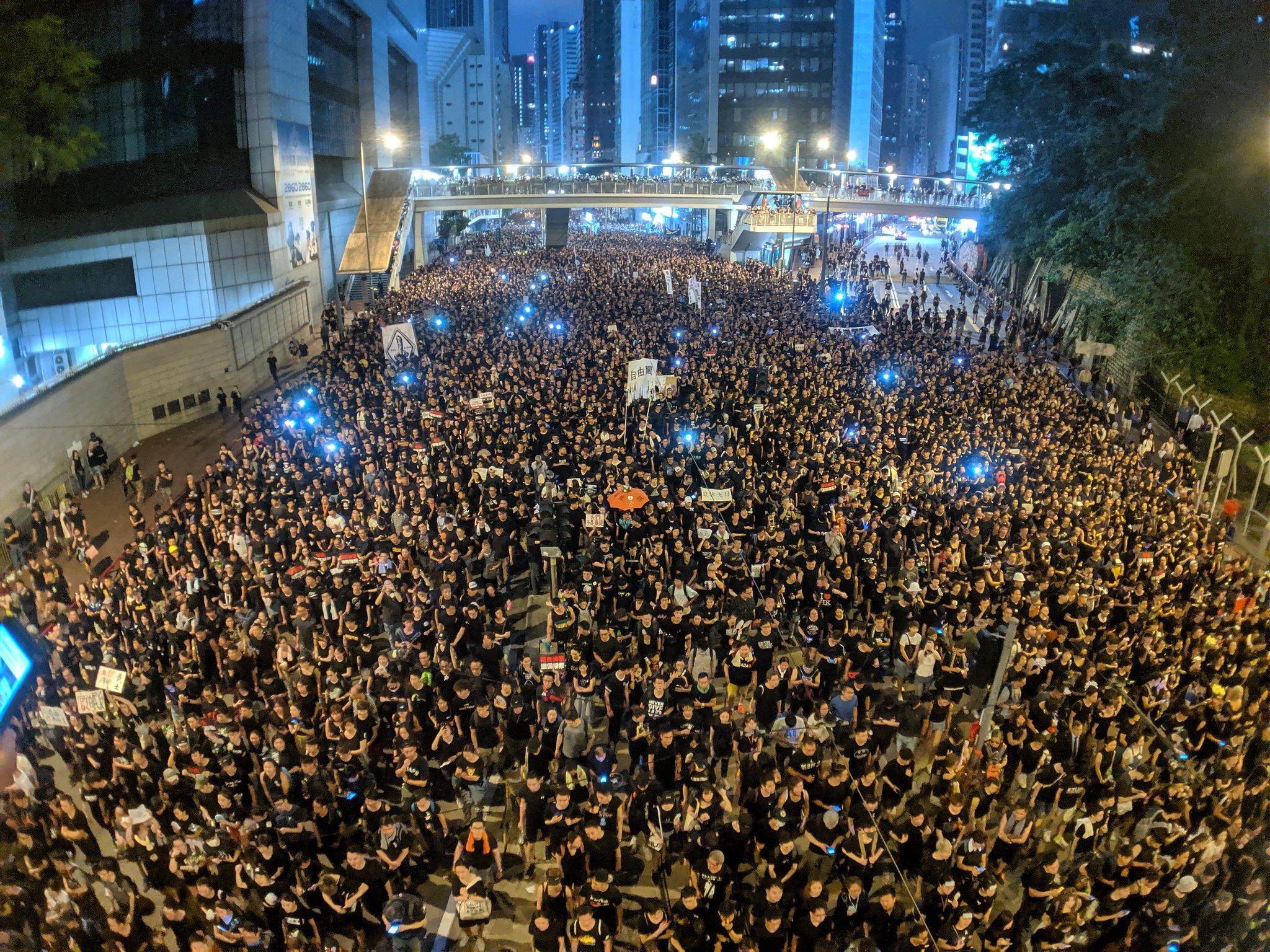 Hong Kong, protests, international