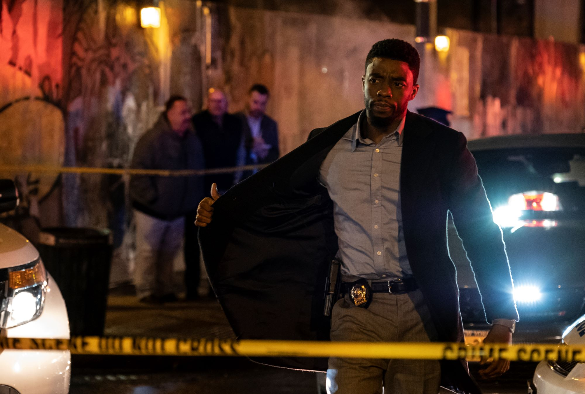 Chadwick Boseman as Andre Davies in 21 Bridges