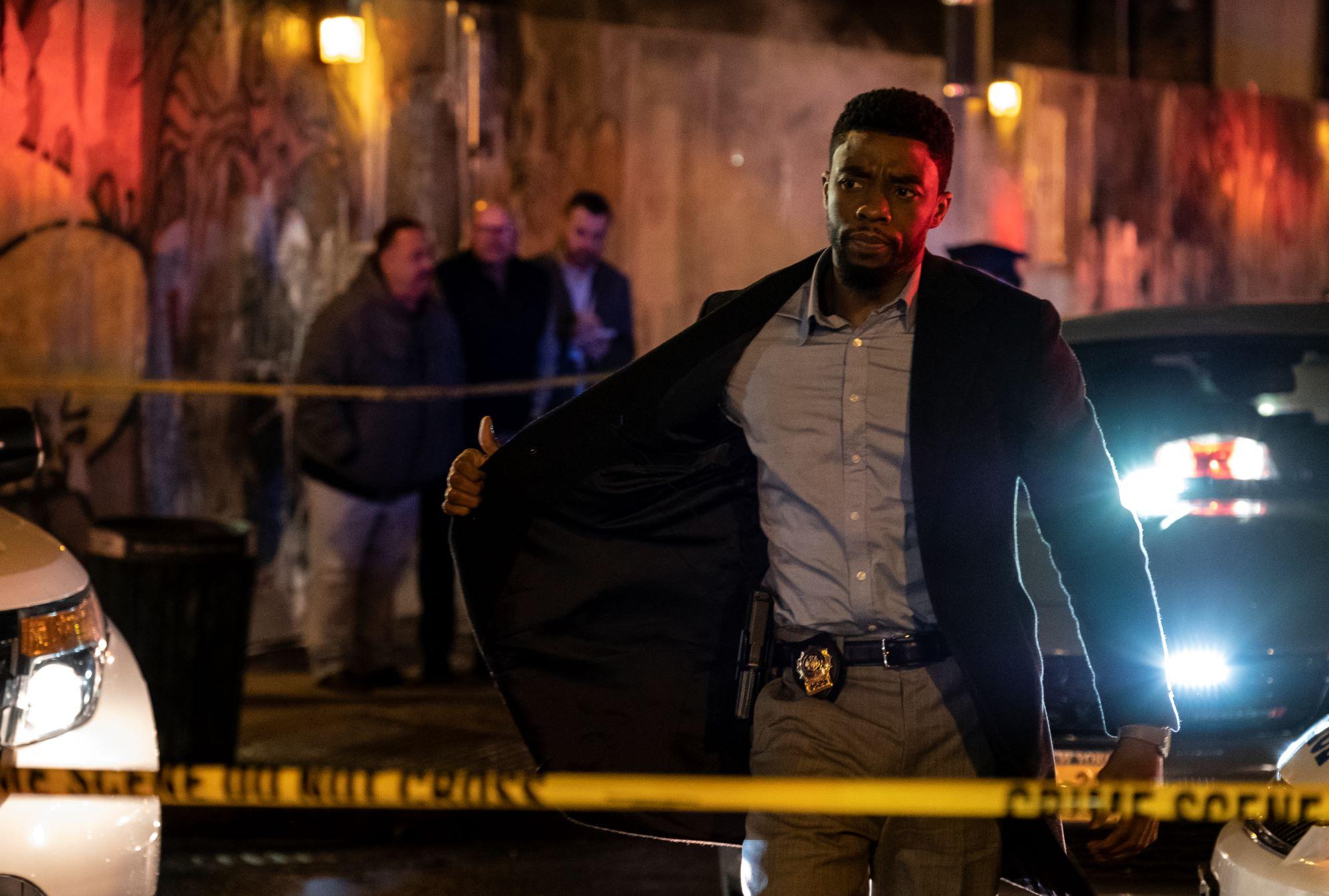 Chadwick Boseman as Andre Davies in 21 Bridges