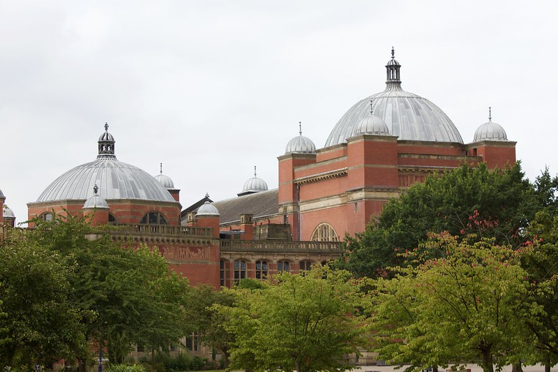The Aston Webb Building at the University of Birmingham