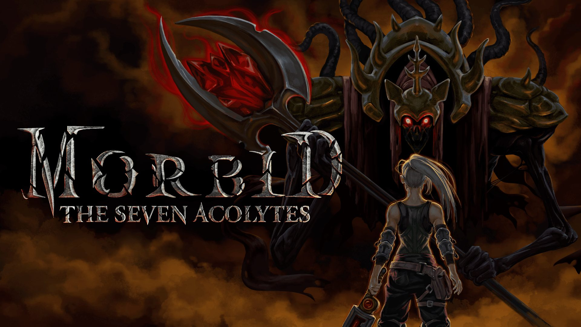 Morbid: The Seven Acolytes title image.