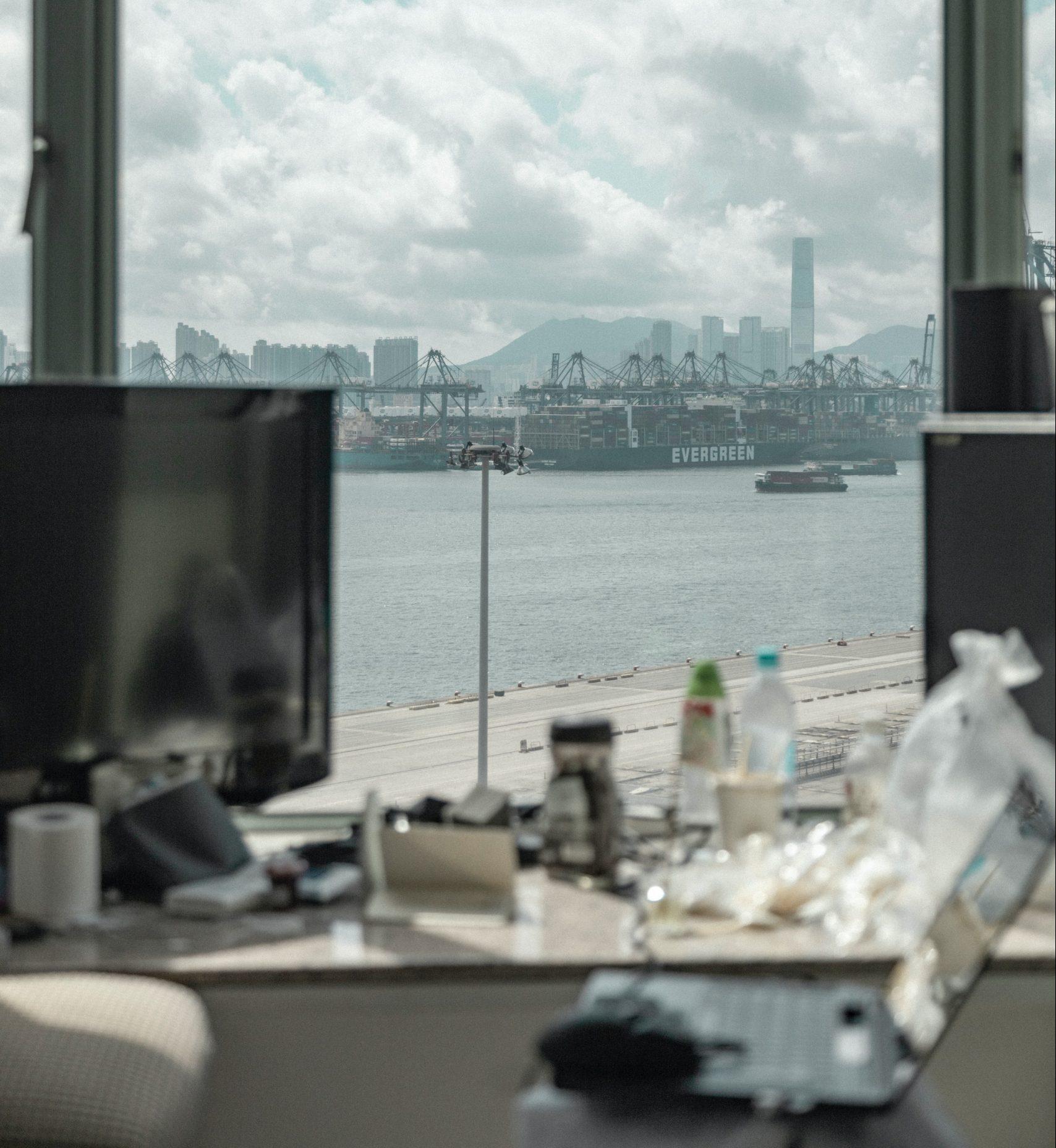hotel quarantine view from window